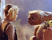 Una scena di 'E.T.', con Drew Barrymore, doppiata in italiano da Rossella Acerbo