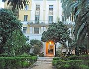 L'ingresso del palazzo in cui venne uccisa Simonetta (foto Proto)