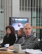 Raniero Busco durante il processo in cui è accusato dell'omicidio di Simonetta Cesaroni (Proto)