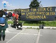 La manifestazione della rete «Antirazzisti Roma» (Eidon)