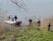 I sommozzatori dei vigili del fuoco proseguono le ricerche (foto Proto)