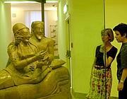 Il sarcofago degli sposi al Museo etrusco di Villa Giulia (Jpeg)