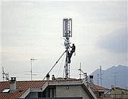 Antenne sui tetti di Roma
