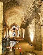 Infiltrazioni nella Domus Aurea in una foto del 2005 (Afp)