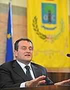 Il sindaco Giovanni Moscherini (Ansa)