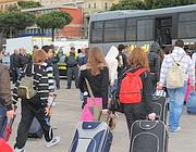 Gli studenti superstiti tornano a Roma