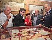 Il sindaco durante una visita al Museo di via Tasso (foto Jpeg)