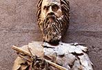Galileo del premio Nobel - La statua di Galileo Galilei di Tsung Dao Lee, premio Nobel per la Fisica nel 1957 all'esterno della Basilica di Santa Maria degli Angeli. (Ansa)
