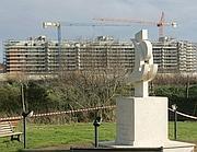 Il monumento a Pasolini all'Idroscalo di Ostia (Eidon)