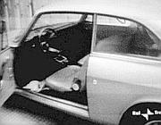 L'auto di Pier Paolo Pasolini (foto da internet)