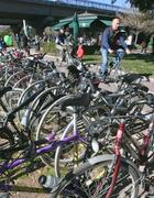 Biciclette davanti all' Auditorium