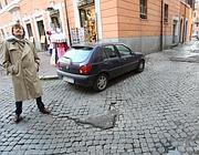 Rappezzi nel centro di Roma (Jpeg)