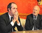 Il governatore Zaia e il sindaco di Venezia Orsoni (Cavicchi)