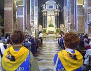Celebrazioni per S.Rita nella basilica di Sant' Agostino a  Roma (Ap)