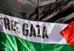 Free Gaza in piazza  - Nuove manifestazioni di protesta, a Roma, contro il blitz delle forze navali israeliane che ha provocato la morte di una decina di pacifisti a bordo delle navi della Freedom Flottilla al largo di Gaza. La tensione nella Capitale intorno al Ghetto e alla sede dell'ambasciata israeliana rimane alta (PhotoMasi)
