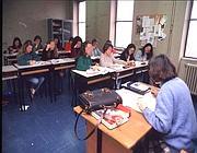 Esami in una scuola romana (Fotogramma)