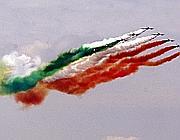 Le Frecce Tricolori (Infophoto)