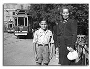 Ugo Forno con la madre