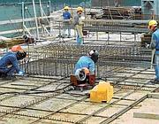 Il cantiere Eurosky all'Eur