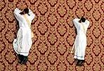 10 mila preti a Roma  - Circa 10 mila sacerdoti provenienti da 91 Paesi del mondo sono attesi da mercoledì a Roma per la chiusura dell'Anno sacerdotale indetto da papa Benedetto XVI, una serie di eventi che culmineranno giovedì sera, 10 giugno, in una veglia con il pontefice e venerdì 11 in una messa solenne (foto Ansa/Giglio)