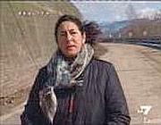 La giornalista Silvia Resta in un servizio su La7