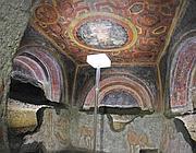 Il cubicolo con gli affreschi  (Reuters)