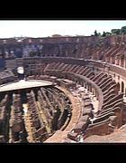 La vista sull'arena e gli ordini dell' Anfiteatro Flavio
