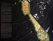 Il rendering del 'Parco Nomade'