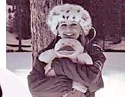 Eleonora sulla neve