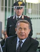 Flavio carboni nel 2005 durante il processo per l'omicidio di Roberto Calvi (Ap)