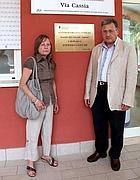 I genitori di Stefano (Foto Omniroma)