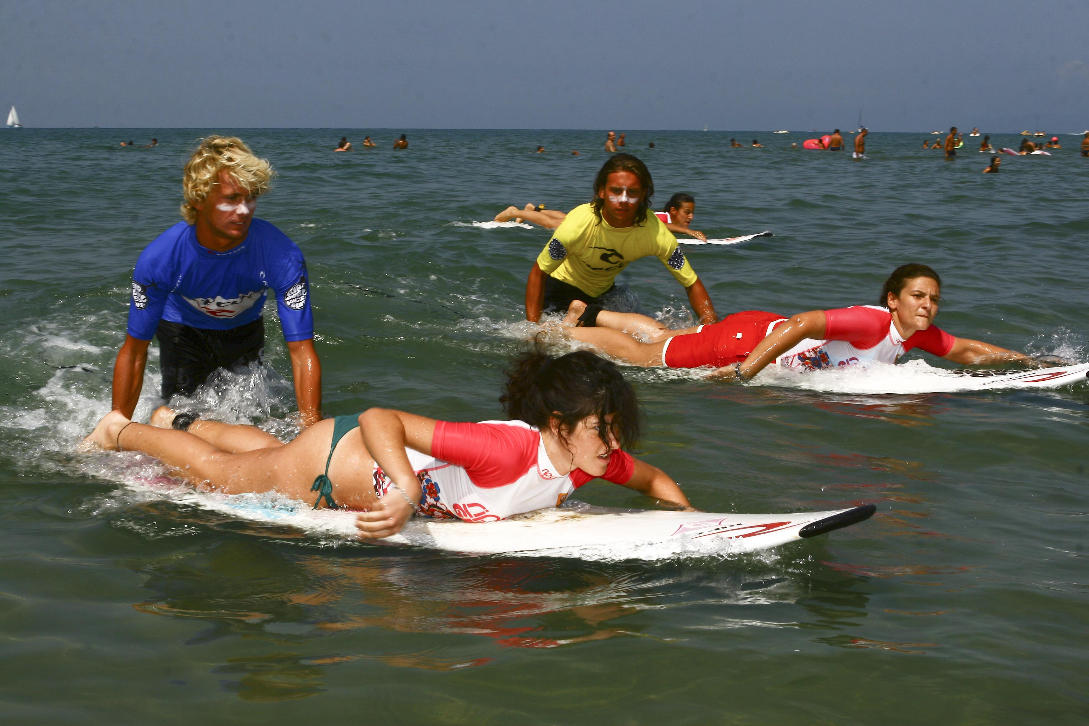 Lezioni di surf a Fregene