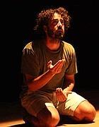 Andrea Piedimonte interpreta Caravaggio