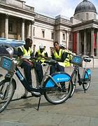 Bike sharing a Londra (foto Zanini)