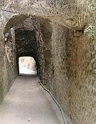 Un tratto del tunnel romano di Ponza (foto dal web)