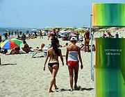 La spiaggia del «Settimo Cielo»  (Faraglia)