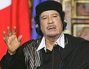 Gheddafi a Roma per il vertice Fao (Lapresse)