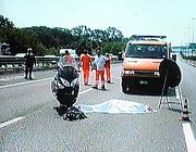 L'incidente di lunedì sul Gra di Roma, provocato da un'auto pirata (Proto)