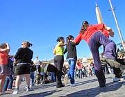 Roma un flashmob contro le mine antiuomo