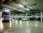 Pochi veicoli e bus turistici nei 765 posti auto e 94 stalli per pullman (Jpeg)
