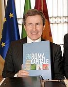 La presentazione dei 140 anni di Roma Capitale, dal 18 al 20 settembre (Foto Eidon)