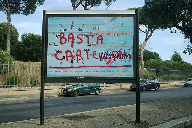 La protesta foto del giorno corriere roma for Via leone xiii roma