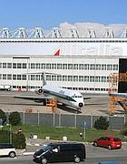 Un aereo Alitalia a Fiumicino (Jpeg)