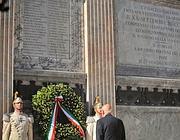Napolitano a Porta Pia (Imagoeconomica)