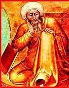 Un ritratto del matematico arabo Averroè (dal web)