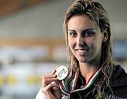 La campionessa Alessia Filippi (Lapresse)