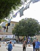 Bucato in piazza a Tor di Nona