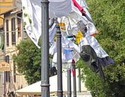 Le «opere» esposte a Tor di Nona fino a domenica