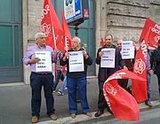 La protesta del Pse in Largo Chigi (Proto)