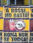 Manifesti anti-Bossi per Roma (Montesi)